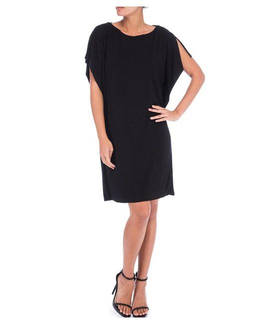 Bobeau - Black Rafferty Dolman Knit Dress - Lyst