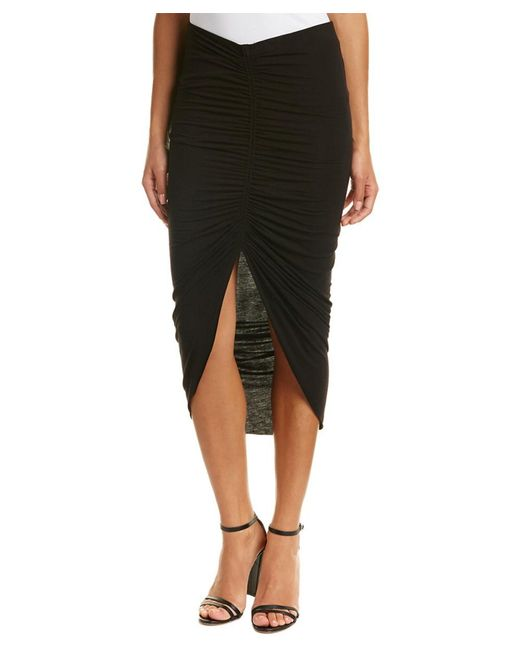 Bailey 44 | Black Ruched Skirt | Lyst