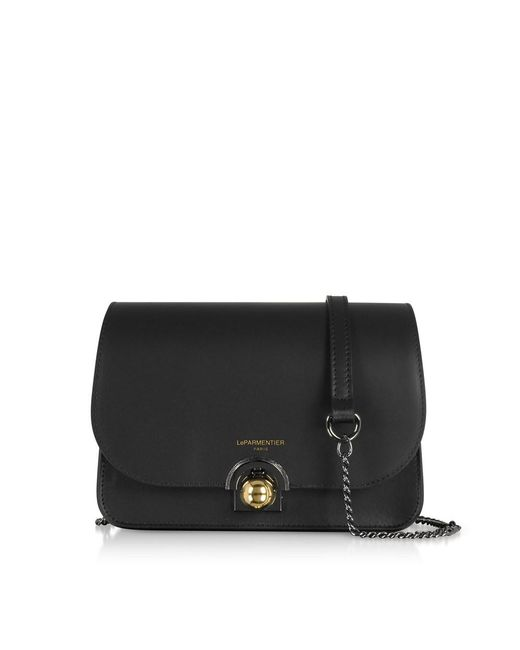 Le Parmentier - Women's Black Leather Shoulder Bag - Lyst