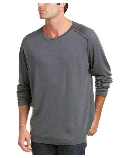 J Brand | Gray Zeta Wool-blend Top for Men | Lyst