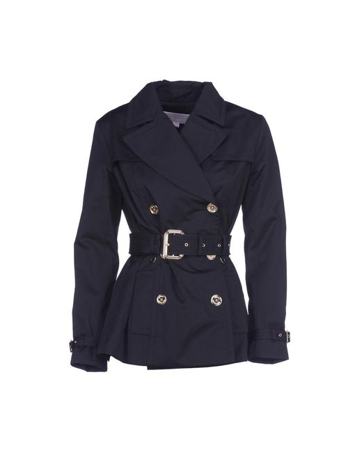 Michael Kors - Michael Double Breasted Jacket In Black , Size S - Lyst