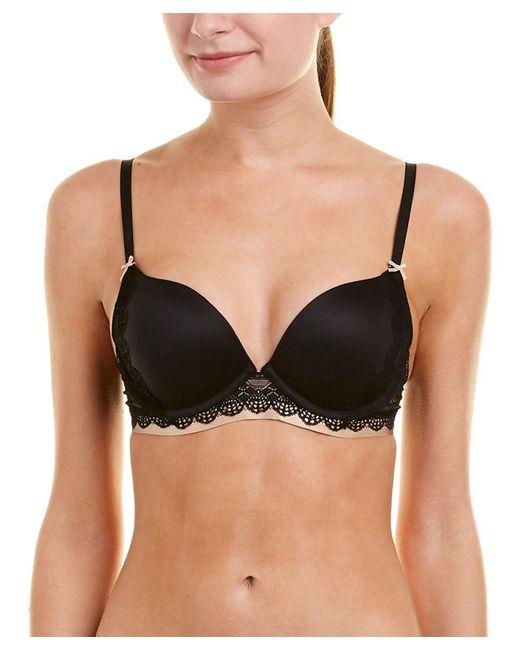 Heidi Klum - Black Intimates Geometric Lace Boost Bra - Lyst