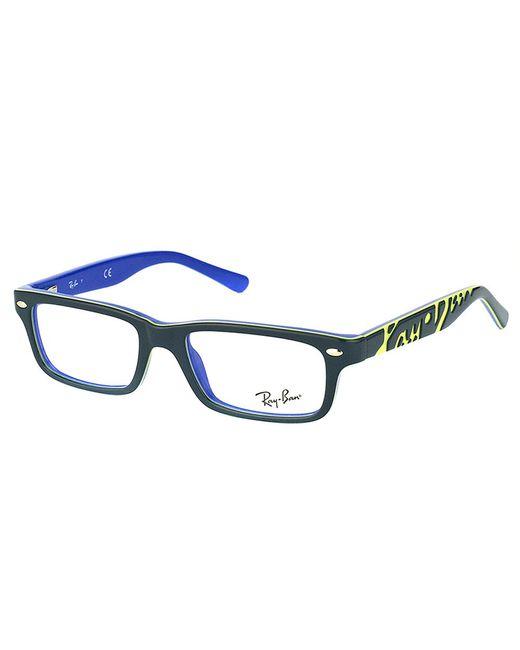 Ray-Ban - Gray Rectangle Plastic Eyeglasses - Lyst