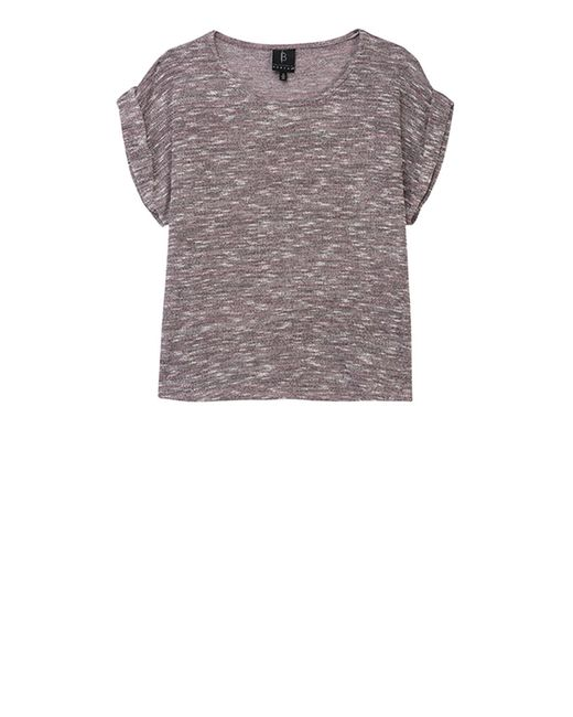 Bobeau - Multicolor Mia Plus Sweater Knit Tee - Lyst