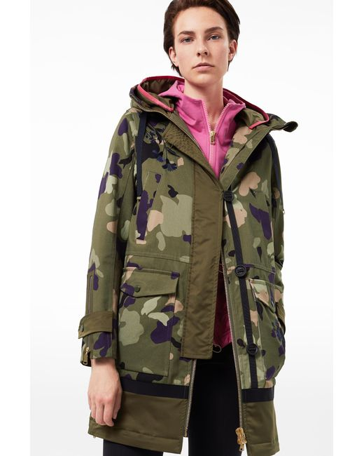 Bogner - Green Camo Jade Cotton Canvas Jacket - Lyst