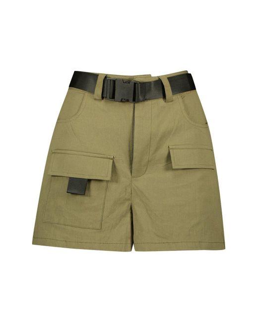 eb929aa82e07b4 Short à poche cargo et boucle Boohoo en coloris Vert - Lyst