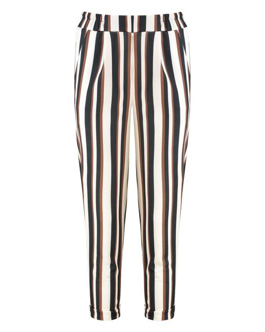 7a1aef29d7f8c ... Boohoo - Multicolor Stripe Tailored Trouser - Lyst ...