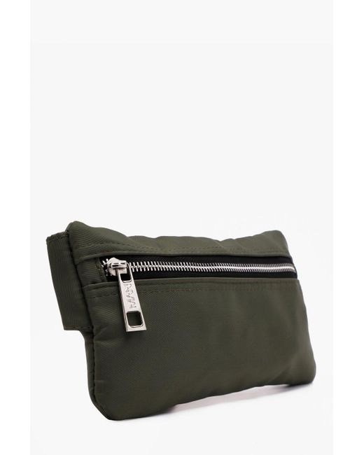 497393f13bbf ... BoohooMAN - Black Mini Man Branded Cross Body Bag for Men - Lyst