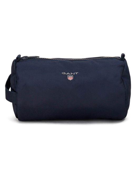 Gant - Blue O1. Original Wash Bag for Men - Lyst