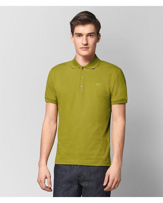 Bottega Veneta - Green Chamomile Cotton T-shirt for Men - Lyst