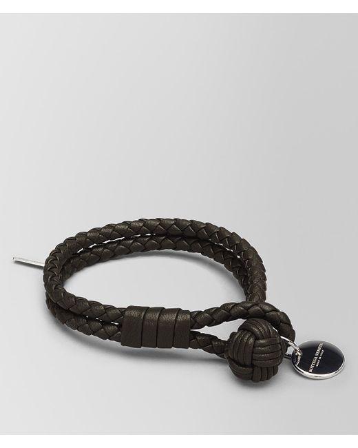 Bottega Veneta - Brown Bracelet In Espresso Intrecciato Nappa - Lyst