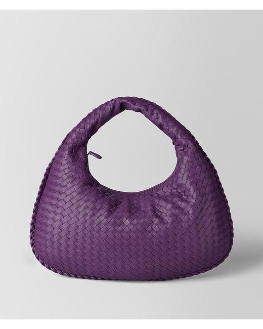 Bottega Veneta - Purple Monalisa Intrecciato Nappa Veneta Bag - Lyst