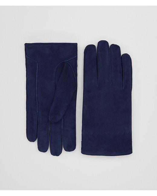 Bottega Veneta - Blue HANDSCHUHE AUS VELOURSLEDER for Men - Lyst