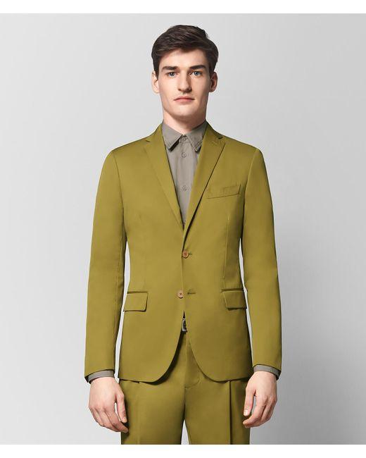Bottega Veneta - Green Chamomile Cotton Jacket for Men - Lyst