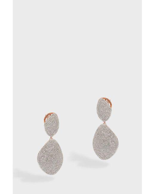 Monica Vinader | Metallic Nura Cocktail Earrings | Lyst