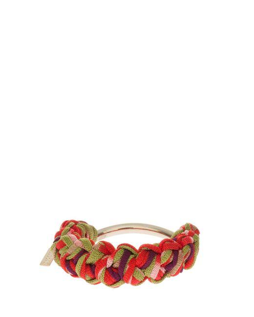 Missoni | Pink Rope Bracelet | Lyst