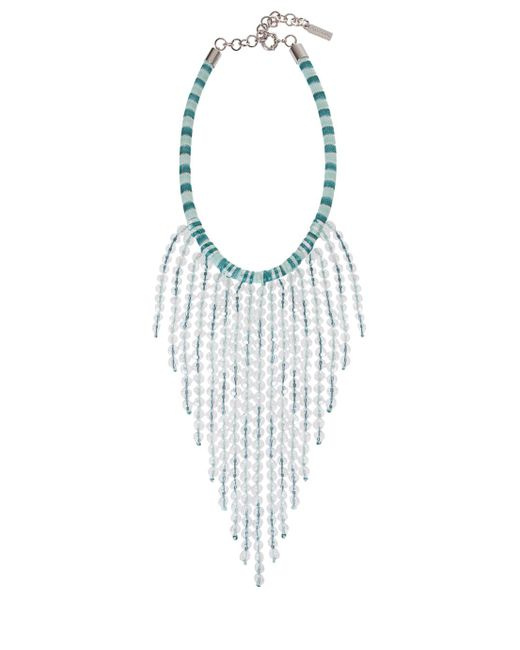 Missoni | Green Fringed Necklace | Lyst