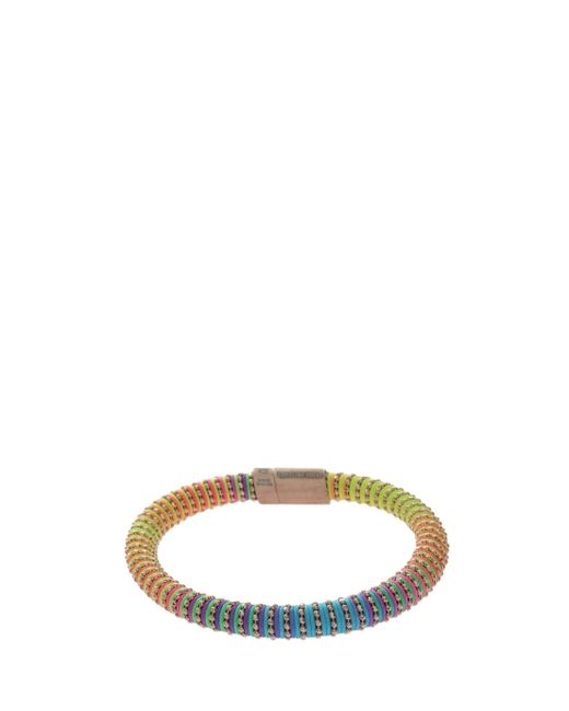 Carolina Bucci | Green Yellow Gold/rainbow Twister Bracelet | Lyst