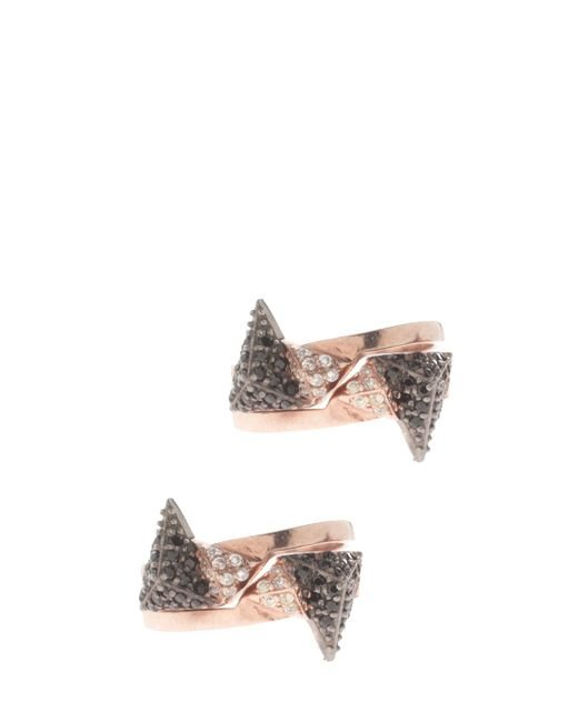Maha Lozi | Multicolor On The Edge Rings | Lyst