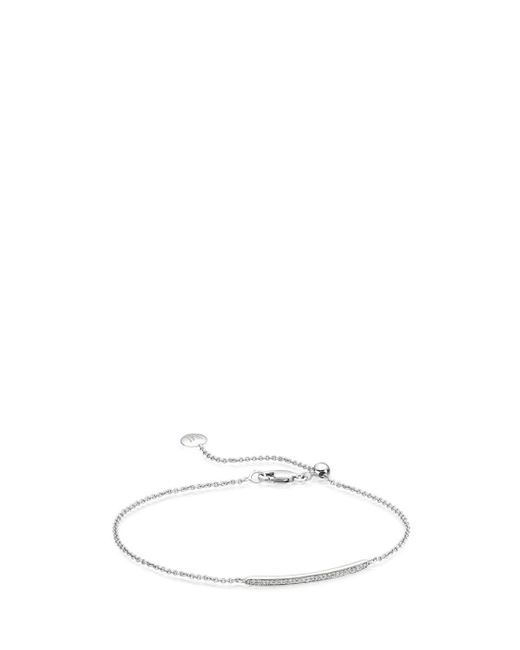 Monica Vinader | Multicolor Skinny Bar Bracelet | Lyst