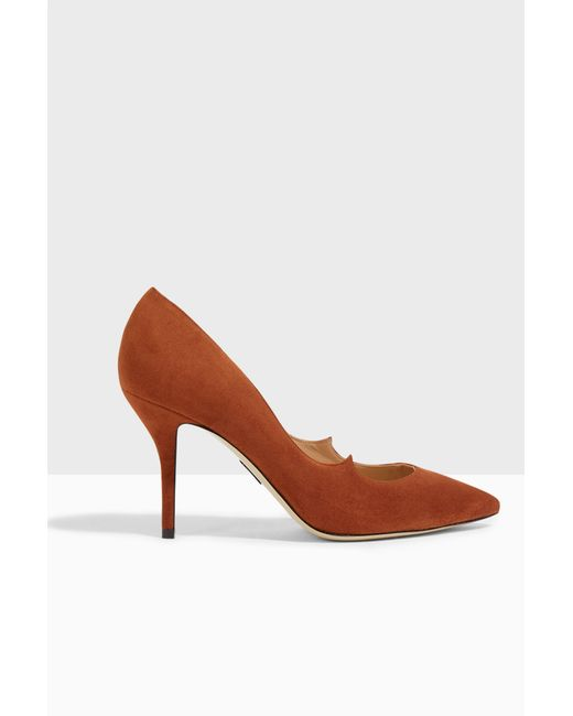 Paul Andrew | Brown Kimura Court Shoes | Lyst