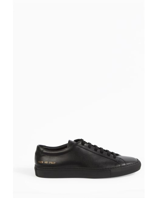 Common Projects | Blue - 'original Achilles Low' Sneakers - Men - Leather/rubber - 40 | Lyst