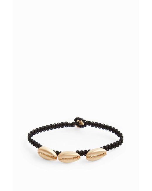 Luis Morais | Multicolor Yellow-gold Three-shell Macramé Bracelet | Lyst
