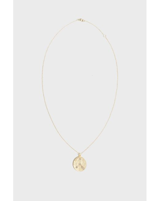 Brooke Gregson - Multicolor Cancer Diamond Necklace, Size Os, Women, Y Gold - Lyst
