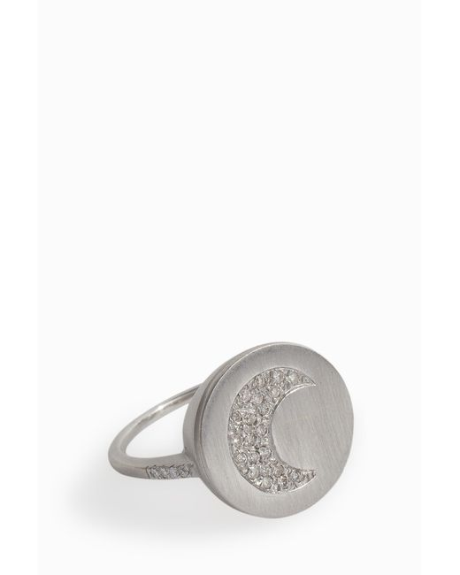 Carolina Bucci - Multicolor Lucky Diamond Ring, Size Usa7, Women, Metallic - Lyst