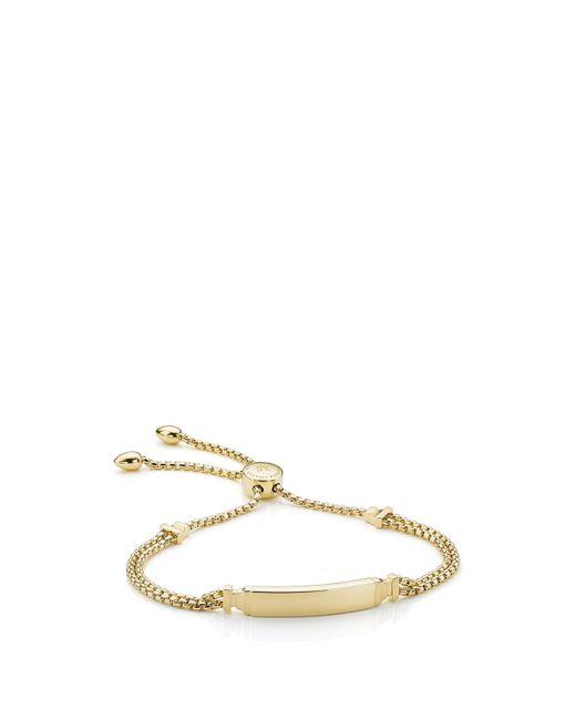 Monica Vinader - Metallic Baja Deco Id Bracelet - Lyst