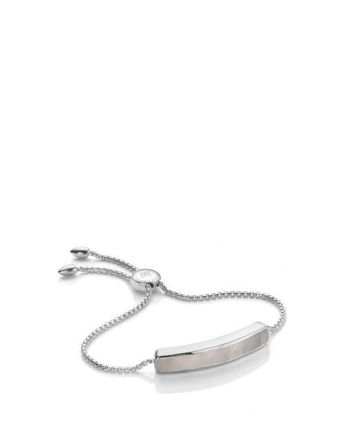 Monica Vinader - Multicolor Baja Bracelet - Grey Agate, Size Os, Women, Grey - Lyst