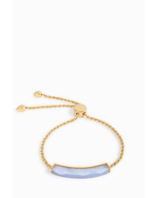 Monica Vinader | Multicolor Linear Stone Chain Bracelet | Lyst