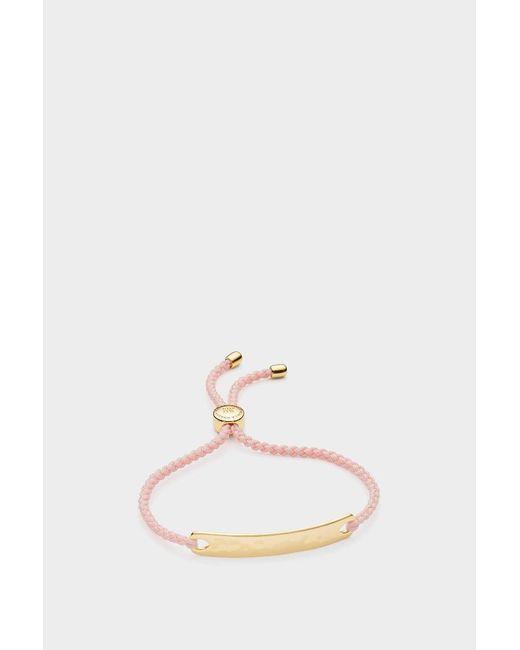 Monica Vinader - Multicolor Gp Havana Friendship Bracelet, Size Os, Women, Gold - Lyst
