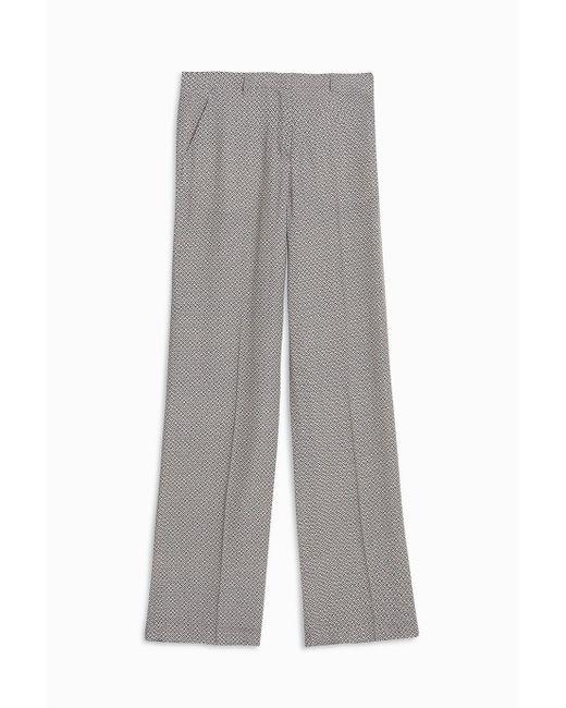 Paul & Joe | Gray Marocain Trousers | Lyst