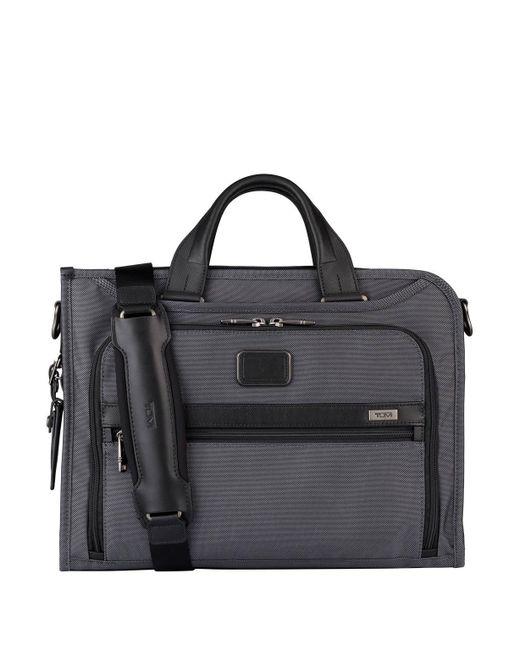Tumi - Gray ALPHA 2 Business-Tasche DELUXE PORTFOLIO for Men - Lyst