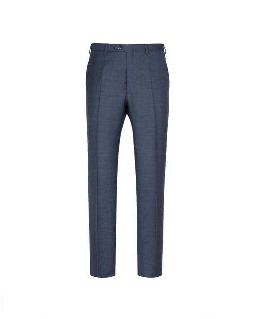 Brioni - Navy Blue Tigullio Trousers for Men - Lyst