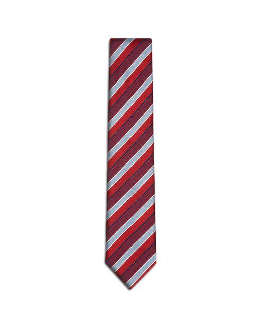 Brioni - Red Regimental Tie for Men - Lyst