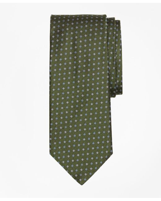 Brooks Brothers | Green Parquet Tie for Men | Lyst
