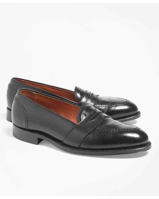 Brooks Brothers | Black Cordovan Low Vamp Loafers for Men | Lyst