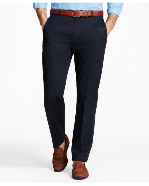 Brooks Brothers - Blue Milano Fit Lightweight Stretch Advantage Chinos® for Men - Lyst