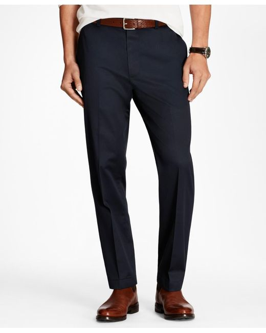 Brooks Brothers - Blue Clark Fit Lightweight Stretch Advantage Chinos® for Men - Lyst