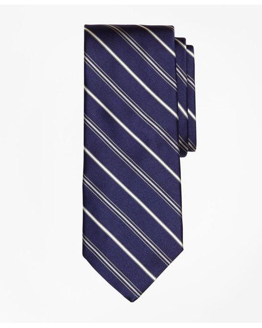 Brooks Brothers - Blue Alternating Stripe Tie for Men - Lyst