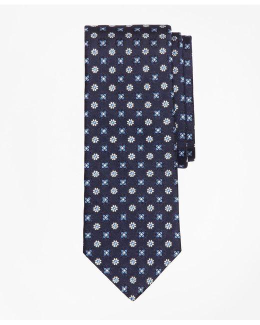 Brooks Brothers - Blue Multi-flower Medallion Tie for Men - Lyst