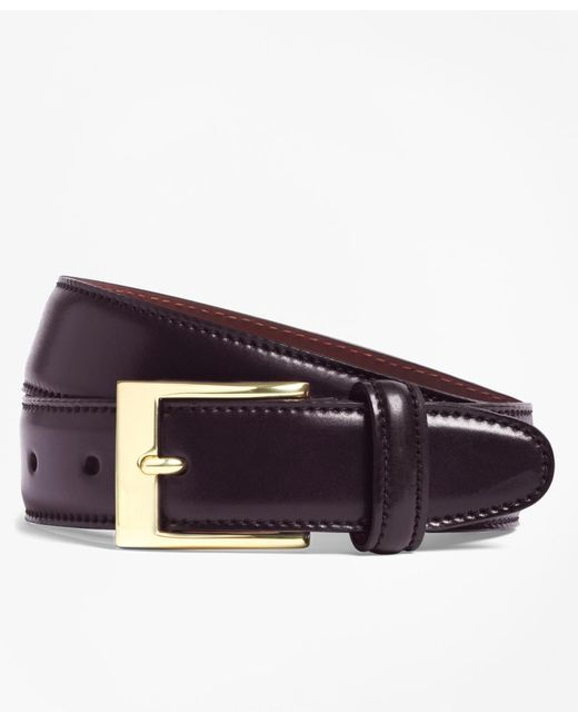 Brooks Brothers | Purple Cordovan Belt for Men | Lyst