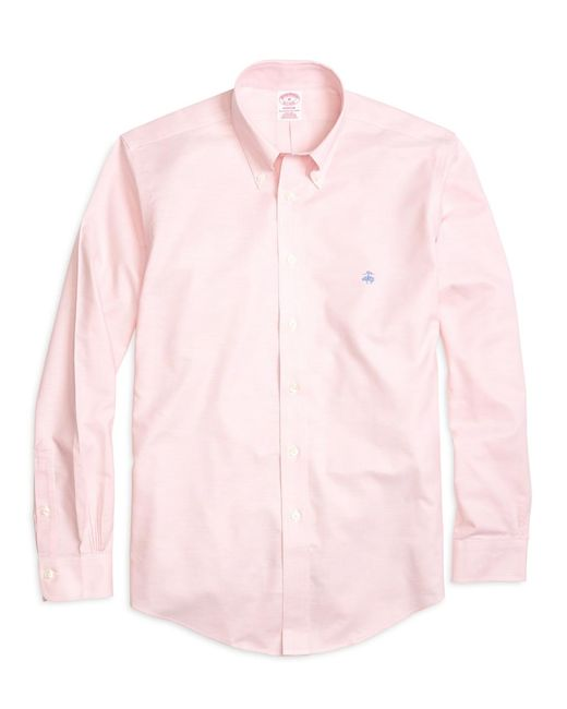 Brooks Brothers - Pink Non-iron Brookscool® Regent Fit Sport Shirt for Men - Lyst