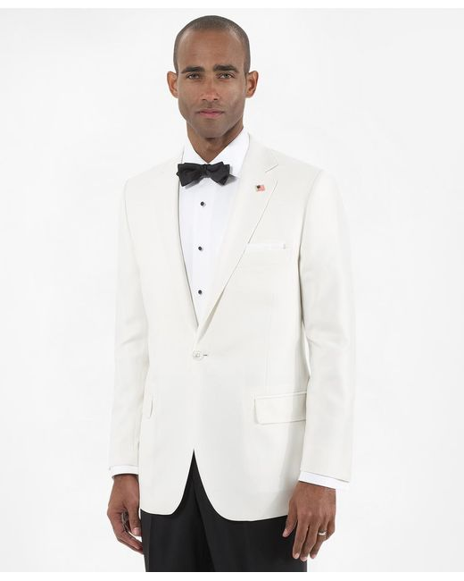 Brooks Brothers | White Fitzgerald Dinner Jacket for Men | Lyst