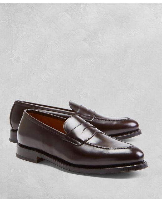 Brooks Brothers | Brown Golden Fleece® Penny Loafers for Men | Lyst