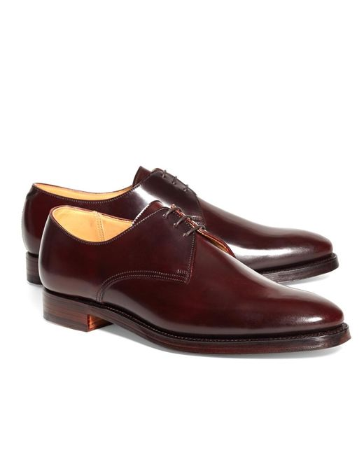 Brooks Brothers - Purple Peal & Co.® Cordovan Bluchers for Men - Lyst