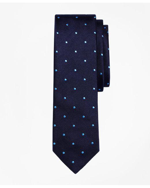 Brooks Brothers - Blue Dot Slim Tie for Men - Lyst