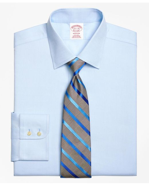 Brooks Brothers - Blue Non-iron Regent Fit Royal Oxford Dress Shirt for Men - Lyst